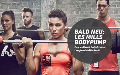 COMING SOON: LES MILLS BODYPUMP